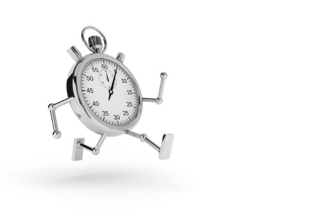 Wie Sie sich den Zeitfresser Nr. 1 vom Leib halten - Die Zeit rennt