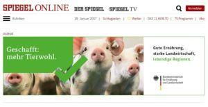 Banner Anzeige Spiegel Online