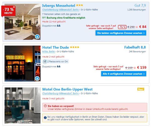 Mit diesen 4 psychologischen Tricks verkaufen Sie mehr in Webinaren - Booking macht es vor