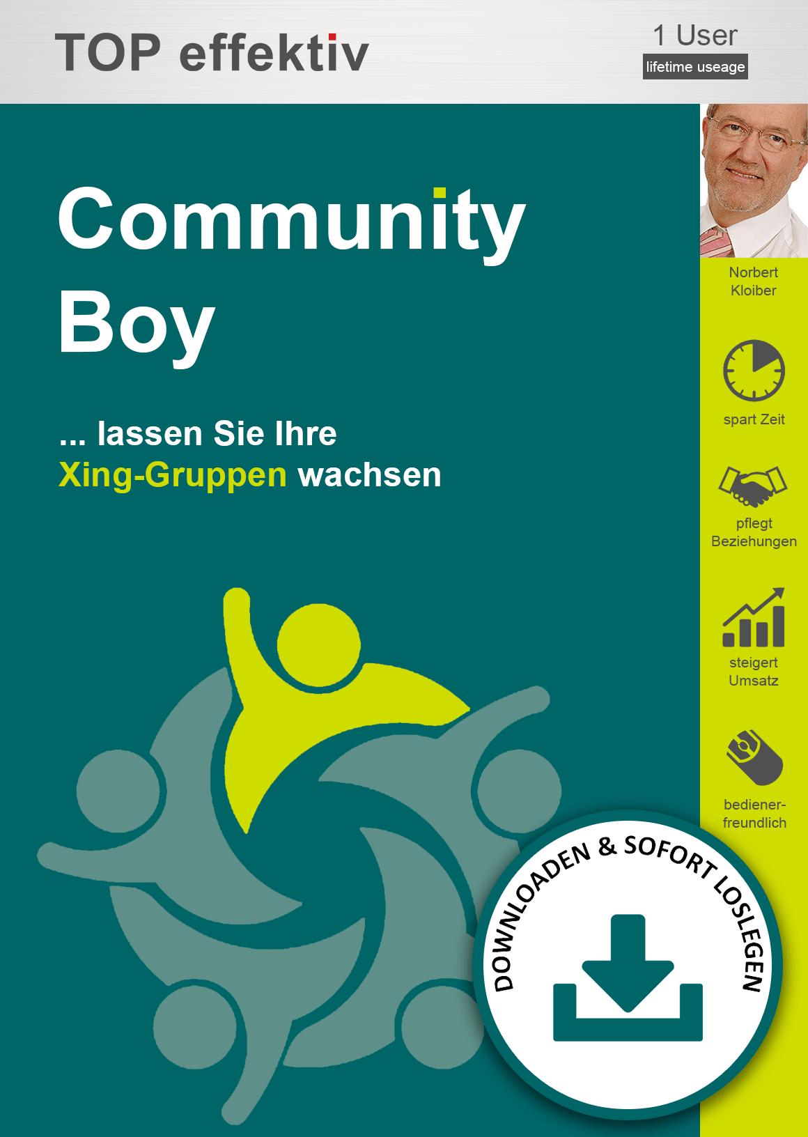 community-boy